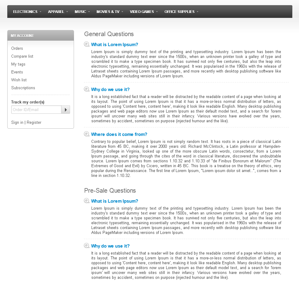how to add faq page avada