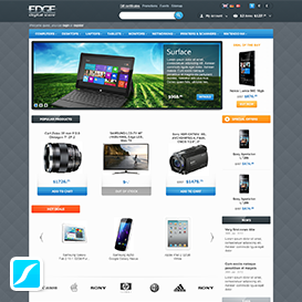 CS-Cart template - Edge Store